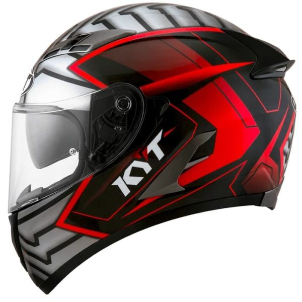Casco KYT Falcon Motif Armour Red