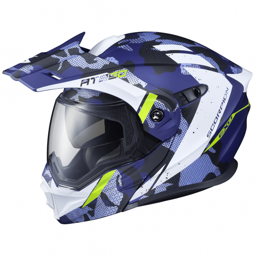 Casco Scorpion EXO-AT950 OUTRIGGER Mtblue