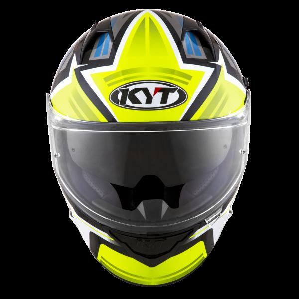 Casco KYT NF-R Artwork Yellow/Grey