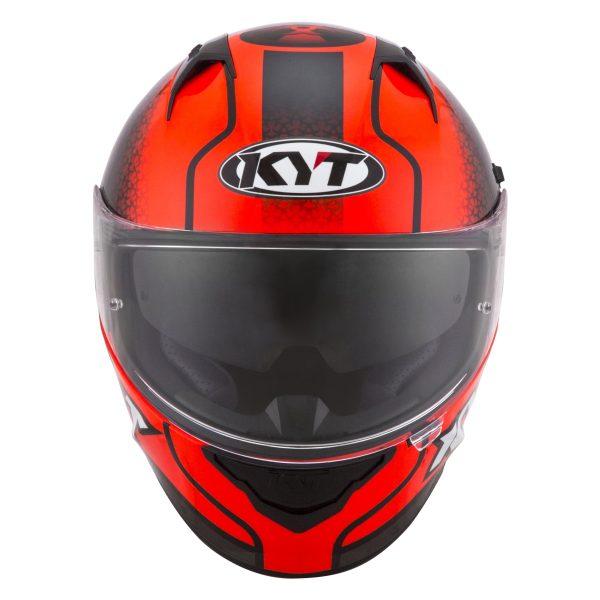 Casco KYT NF-R Hyper Fluo Red