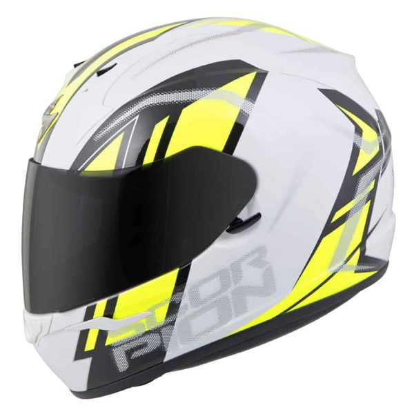 Casco Scorpion EXO-R320 ENDEAVOR White/Hi-viz