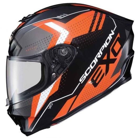 Casco Scorpion EXO-R420 SEISMIC Orange