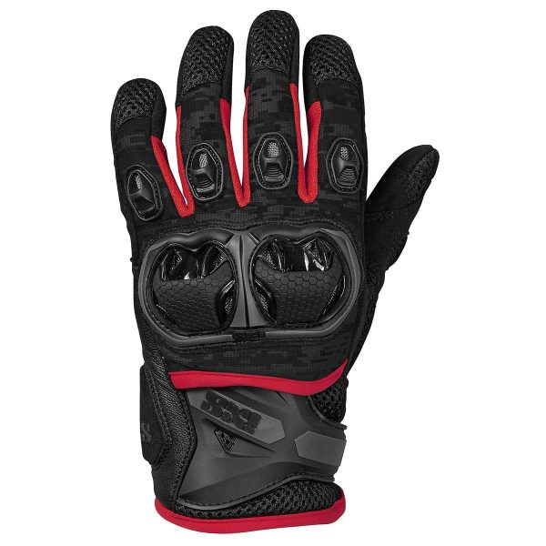 IXS Guantes Montevideo Air S Red