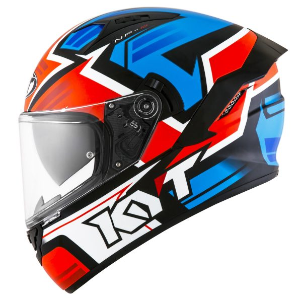 Casco KYT NF-R  Artwork Red/Blue