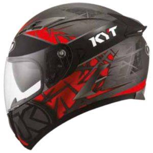 Casco KYT Falcon Rift Rojo