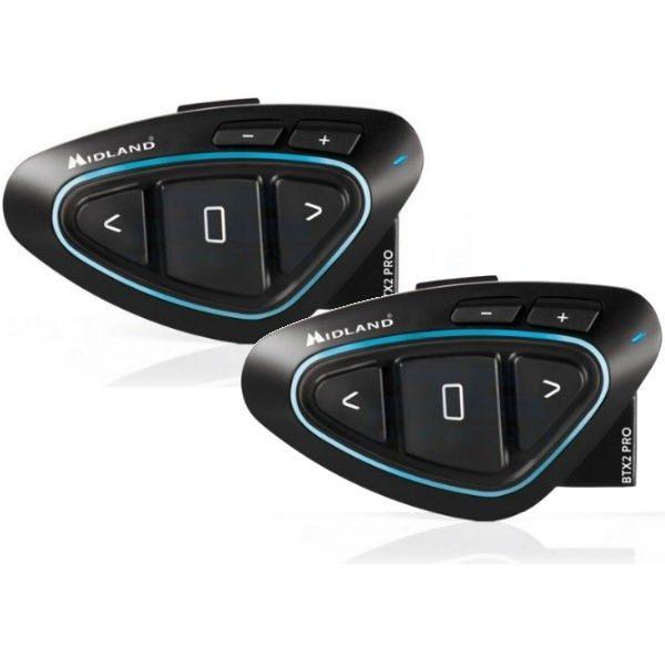 Intercomunicador Midland BTX2 Pro Duo