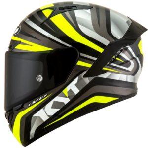 Casco KYT NX-Race Mood Yellow Fluo