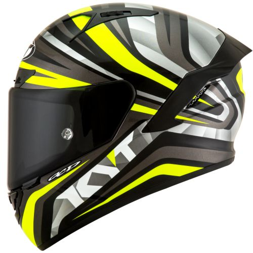 Casco KYT NX-Race Mood Yellow Fluo