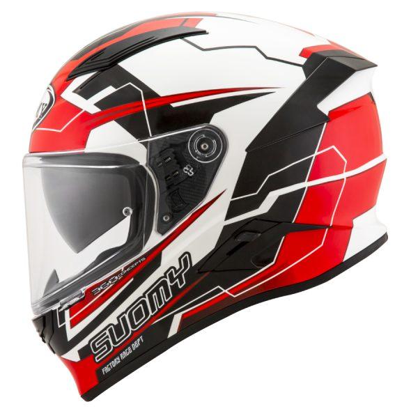 Casco Suomy Speedstar Camshaft Black White Red