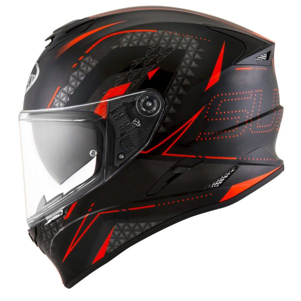 Casco Suomy Stellar Shade Black Red