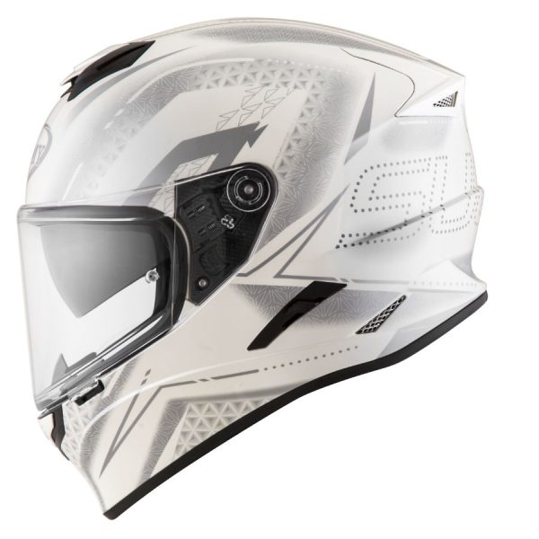 Casco Suomy Stellar Shade White Grey