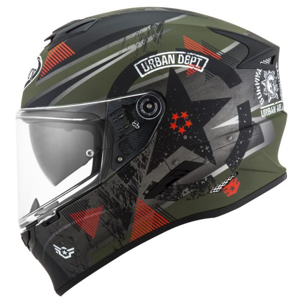 Casco Suomy Stellar Wrench Matt Green Grey