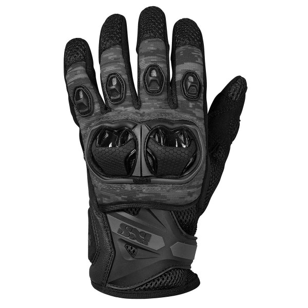 IXS Guantes Montevideo Air S Black