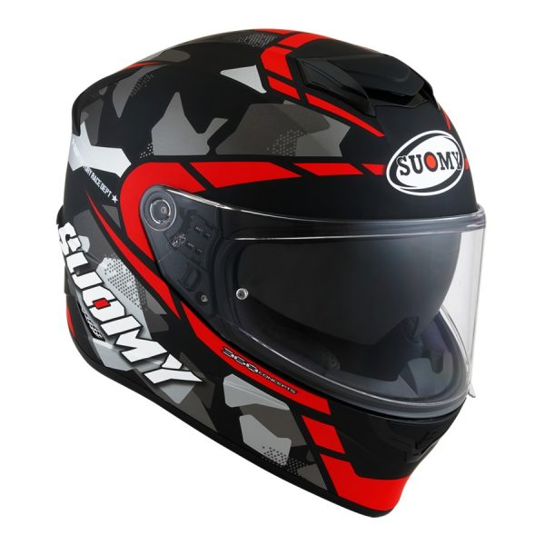 Casco Suomy Stellar Race Squad Red