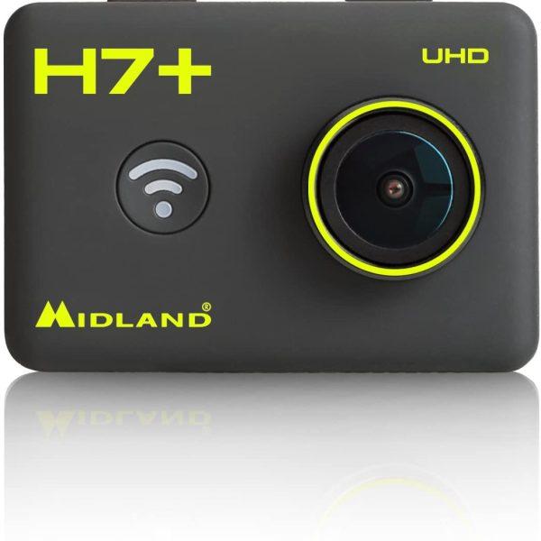Cámara acción Midland H7 4k UHD control remoto