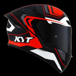 Casco KYT TT- COURSE Overtech Black/Orange