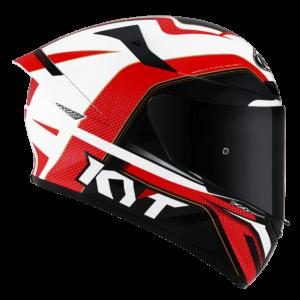 Casco KYT TT- COURSE Grand Prix Blue/Red