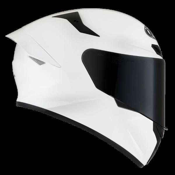 Casco KYT TT- COURSE WHITE BRILLANTE