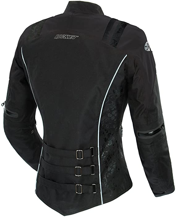 Chaqueta JOE ROCKET DAMA ATOMIC 4.0 DAMA NEGRO