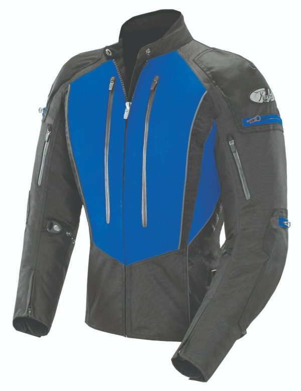 Chaqueta JOE ROCKET ATOMIC 5.0 DAMA AZUL