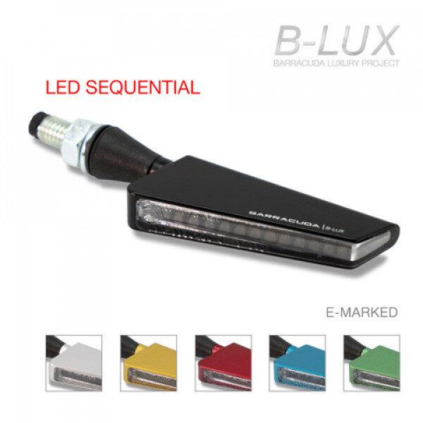 Direccional SQ. LED B-LUX Barracuda. (Intermitente Secuencial).universal.