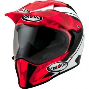 Casco Suomy MX-Tourer Desert Red.