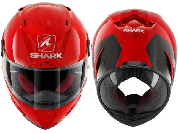 Casco SHARK RACE-R PRO Carbón Red.