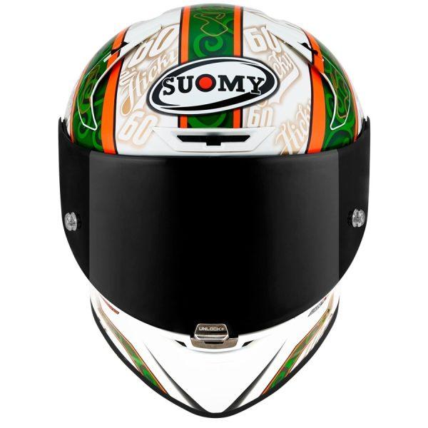 Casco Suomy SR-GP Peter Hickman.