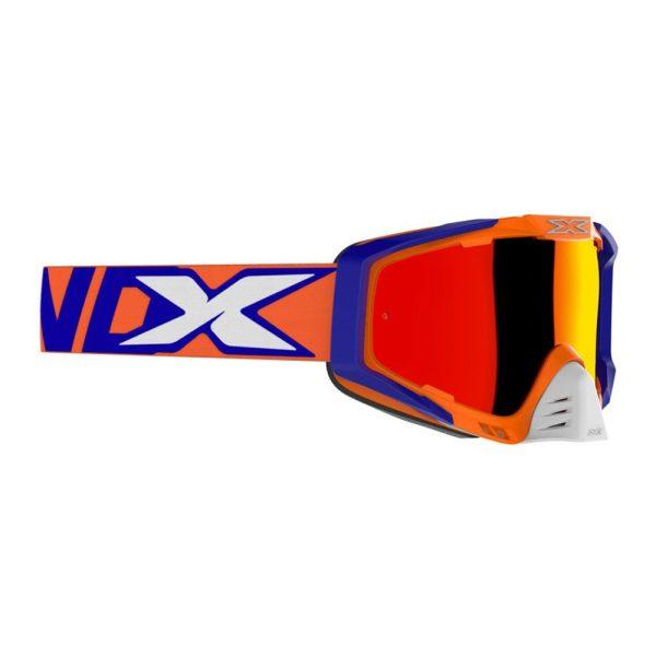 Goggles EKS-S GOX. Orange-Blue.