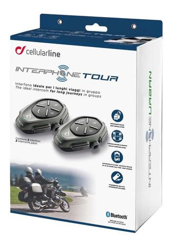Intercomunicador INTERPHONE CELLULARLINE TOUR.