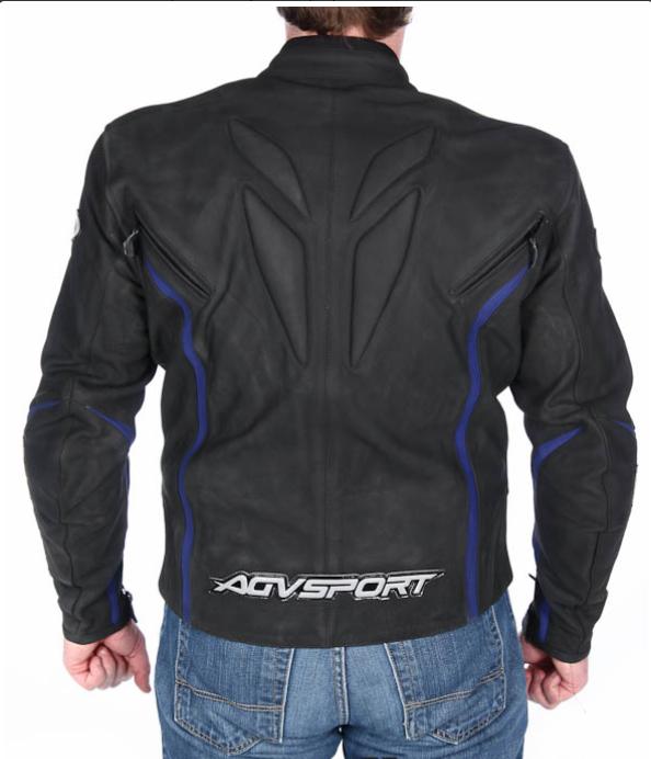 Chaqueta AGV Sport DRAGON. Black/Blue.