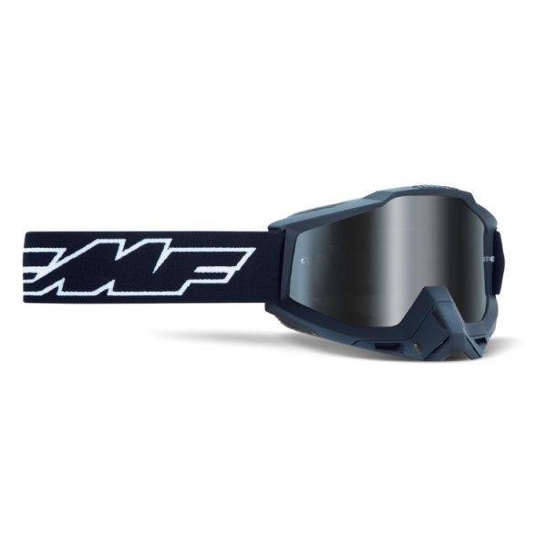 Goggles FMF POWERBOMB. Rocket Black-Mirror Silver Lens.